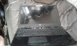 "Hp Laptop 17"" screen 4gb 1 Tb"