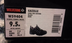 BRAND NEW WOMEN'S WOLVERINE GAZELLE SAFETY SHOES