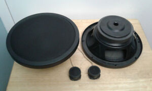 8'' Mid-bass Paper Cone Speakers  4 ohms  + 1'' Dome tweeters