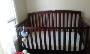 Convertible Crib with Mattress