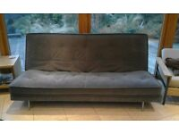 Excellent Quality Sofa Bed - Dusty Blue