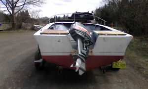 I want to trade for a bigger motor for my boat.