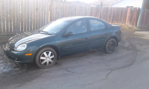 2002 Neon - will get you from A to B $1100 OBO