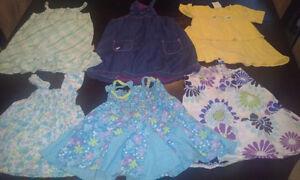 Lot de robe été pour fille 24 mois et 2 ans