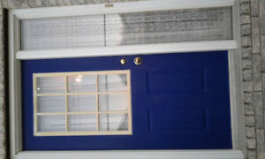 ON HOLD-Front door with side window