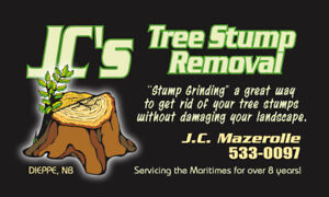 Tree Stump Removal/Stump Grinding