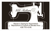 Réparations, Couture/ Repairs, Sewing