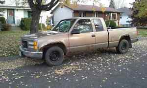 1997 GMC C/K 1500 Light Brown Pickup Truck