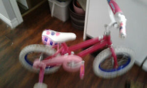 Beautiful Pink Girls Training Bike (Half Price) New