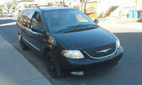 2003 Chrysler Town & Country Cuir Fourgonnette, fourgon