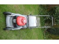 Honda lawnmower with box