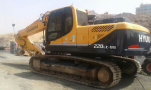 EXCAVATOR RENTAL AT THE LOWEST RATE