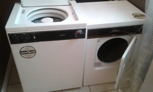 Smaller washer and dryer need gone ASAP