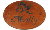 Customized Wooden Horse Stall Signs