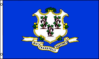 Connecticut State Flag 3x5 Polyester