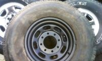 FORD SUPER DUTY WHEEL. 8 BOLT STEEL RIM, 265/75R16 LOAD E TIRE
