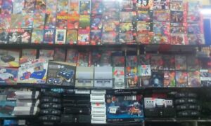 N64+1 manette=$60,Wii console+1 manette=$60,Ds+107 games=$100.00