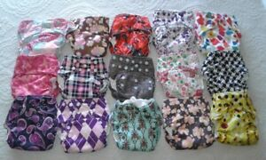 Cloth Diapers with Planet Wise Hanging Wet/Dry Bag
