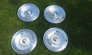 1957 Meteor and 1957 Ford 14 inch original hubcaps