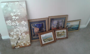 paintings and prints $7-$10