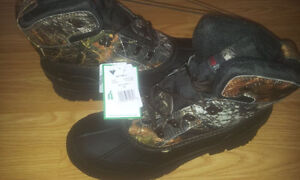 Hunting CAMO Size 10 Boots Brand New!
