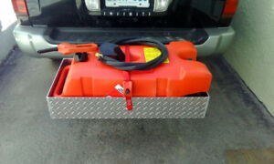 Portable fuel station