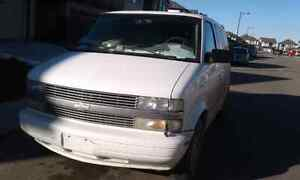 Chevrolet Astro 2005 only text