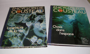 VOLUMES COLLECTION J-Y. COUSTEAU
