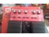 boss rc 20 loop pedal