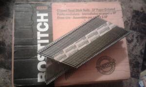 """BOSTITCH 3 1/4"""" X .120"""" cut head framing nails"""