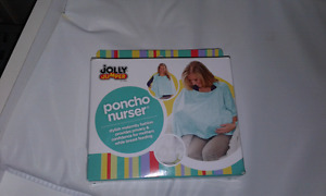 Jolly jumper poncho nurser!