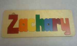 Zachary name puzzle