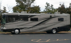Forest River 40' Motorhome. NEW EQUIP & Still has a Warranty!