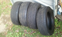 6 TIRES FOR $50!!! 185 60 14, 185 65 14 ALL SEASON, and WINTER.