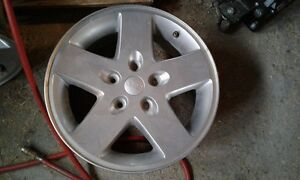 4 of 17 inch Jeep Aluminum rims for sale