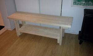 Solid wood benches for sale
