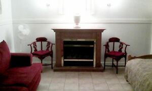 Basement Bachelor Apartment for Rent $650 All-Inclusive