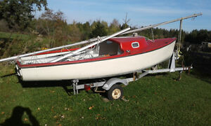 18 foot sailboat