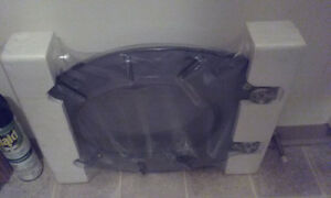 Toilet seat with lid - NEW
