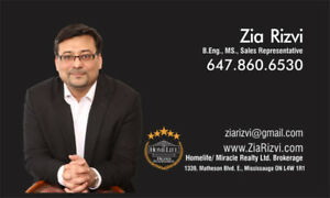 Professional Real Estate agent in Mississauga (BUY, RENT, SELL)