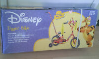 Disney Tigger bike for young kids--NEW!