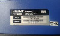 Broadband Router Linksys WRT54G series