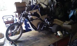 Custom Chopper Trike & Fast Mini Bike