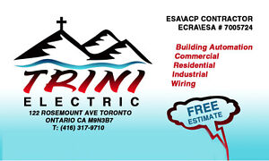 LICENSED MASTER ELECTRICIAN 416-317-9710