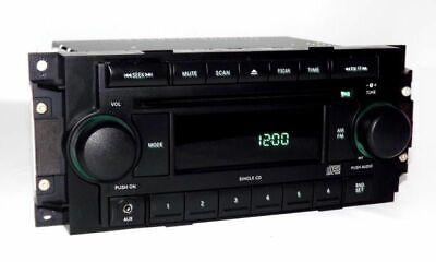 Dodge Ram 2500 Pickup Truck Radio 2006 AM FM CD Player Aux Input REF w Warranty