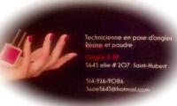 Technicienne d'ongles résine et poudre- Ongles S.M.