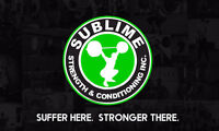 Sublime Strength & Conditioning - Fitness | Team Training