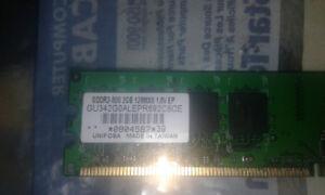 best offer 2gb of Gddr2-800  128mx8 1.8v EP ram