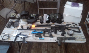 Full paintball starter collection (used)