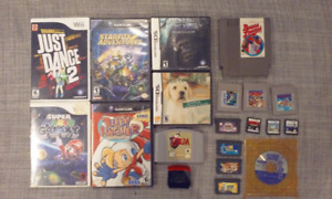 Jeux Nintendo Gamecube, wii, nes, ds, game boy, n64, gba & snes
